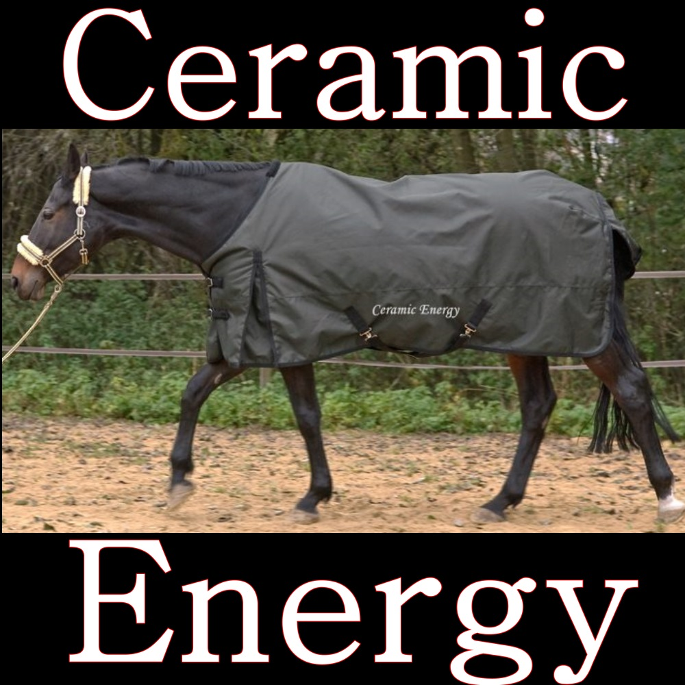 Ceramik Pferdedecke für Pferd mit Muskelverspannungen