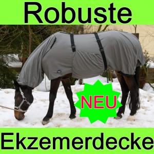 Einzelner Bauchlatz für´s Pferd statt kompletter Ekzemerdecke