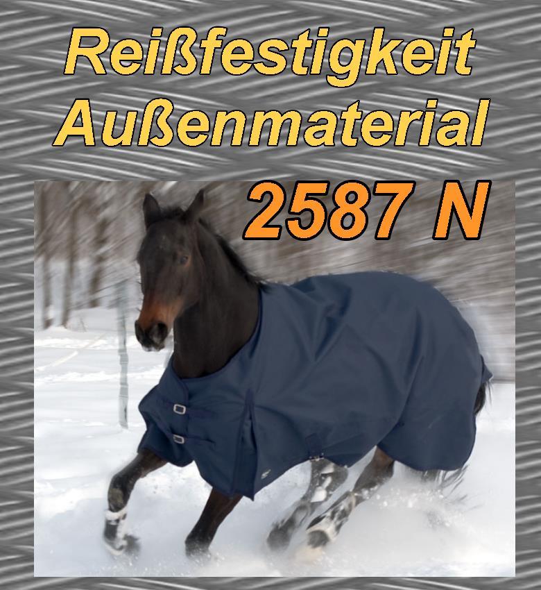 Regendecke und leichte Winterdecke für Trakehner