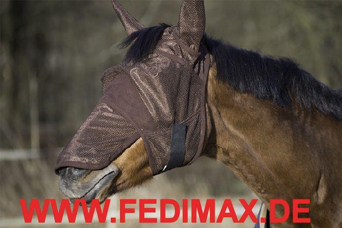 Fliegenschutz Pferd Nüstern