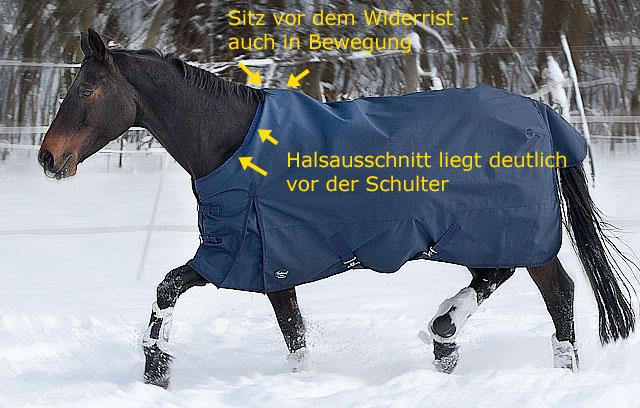 Passform Pferdedecke